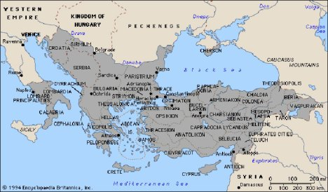 kerajaan-byzantium1025