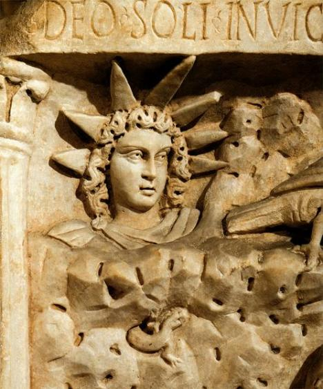 Mitra-Mithras-Deus Sol Invictus
