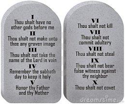 10 Perintah YAHWEH