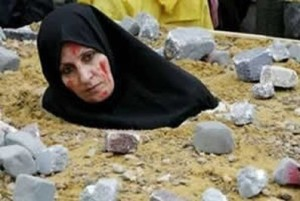 Wanita Islam dihukum rajam