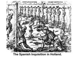 Inkuisisi Spanyol di Belanda