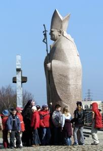 pomnik  Jana  Paw³a  II DZIECI
