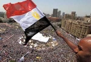 Demo anti-president Morsi di Lapangan Tahrir Kairo