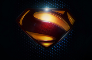 Logo Superman Man of Steel huruf S berbentuk ular
