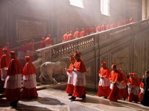 Para Kardinal Roma Katolik se dunia bertemu di Roma