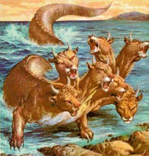 Binatang buas berkepala 7 dan sepuluh tanduk