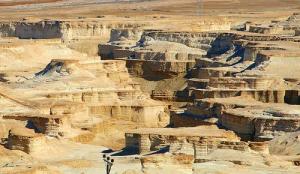 Kota Sodom dan Gomorah terbakar batu belerang