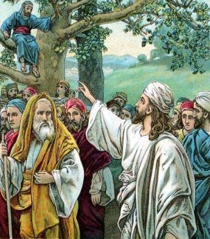 Zakheus bertemu Yeshua Ha Mashiah