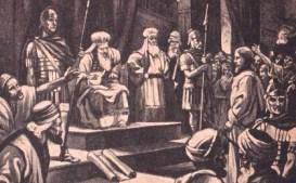 Yeshua dipersidangan Sanhedrin