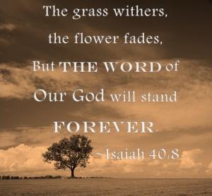 Yesaya 40 ayat 8 Firman Elohim kekal selamanya