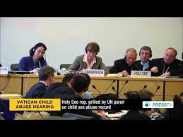Laporan PBB pada pelecehan sex anak Vatikan di Genova 2014