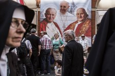 Italy - Religion - Canonization of John Paul II and John XXIII