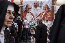 Italy - Religion - Canonization of John Paul II and John XXIII