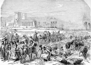 Bangsa Israel keluar dari perbudakan bangsa Mesir