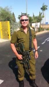 Kapten Dan Gordon Tentara Pertahanan Israel Unit Jurubicara Militer