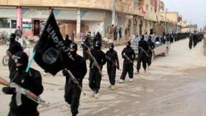 Organisasi militan Sunni ISIS berparade di Irak membawa bendera Jihad