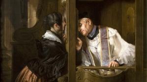 pengakuan dosa cara Gereja Roma Katolik tidak alkitabiah