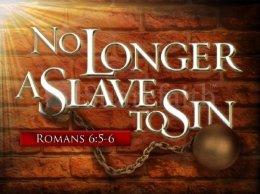 Roma 6 ayat 5 dan 6 bebas dari budak dosa
