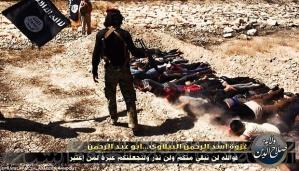Militan Negara Islam Kalifah membantai tentara Irak yang telah tertangkap