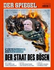 Negarak Islam Kalifat NEGARA JAHAT sampul majalah Der Spiegel