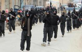 pejuang Negara Islam Khalifah berparade