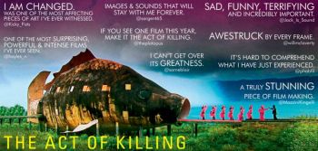 Komentar penonton atas Film JAGAL The Act of Killing