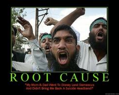 para Muslim fanatik menuntu hak