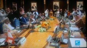 Pertemuan Paris bersama para delegasi Negara-negara Arab