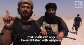 Sharia hanya dapat ada dibangun dengan senjata militan NIK