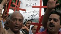 Jemaat Kristen Pakistan protes atas pembunuhan Shehzad dan Shama