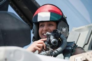 Major Mariam al-Mansouri pilot wanita Emirat Arab membom NIK ISIS