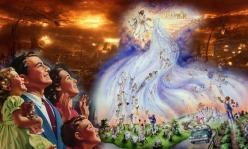 Illustrasi peristiwa Pengangkatan Gereja atau Jemaat Yeshua