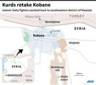 Pejuang Kurdi merebut kembali kota Kobani dari tangan Jihadist Negara Islam