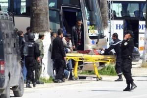 Turis asing diserang militan Negara Islam di Tunisia 17 tewas