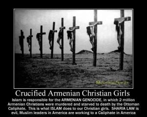 Gadis-gadis Kristen Armenia disalib Kalifah Ottoman