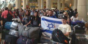 Orang-orang Yahudi Ukrainia berimigrasi ke Israel
