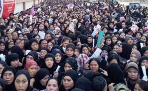 Para TKI Wanita di Arab Saudi